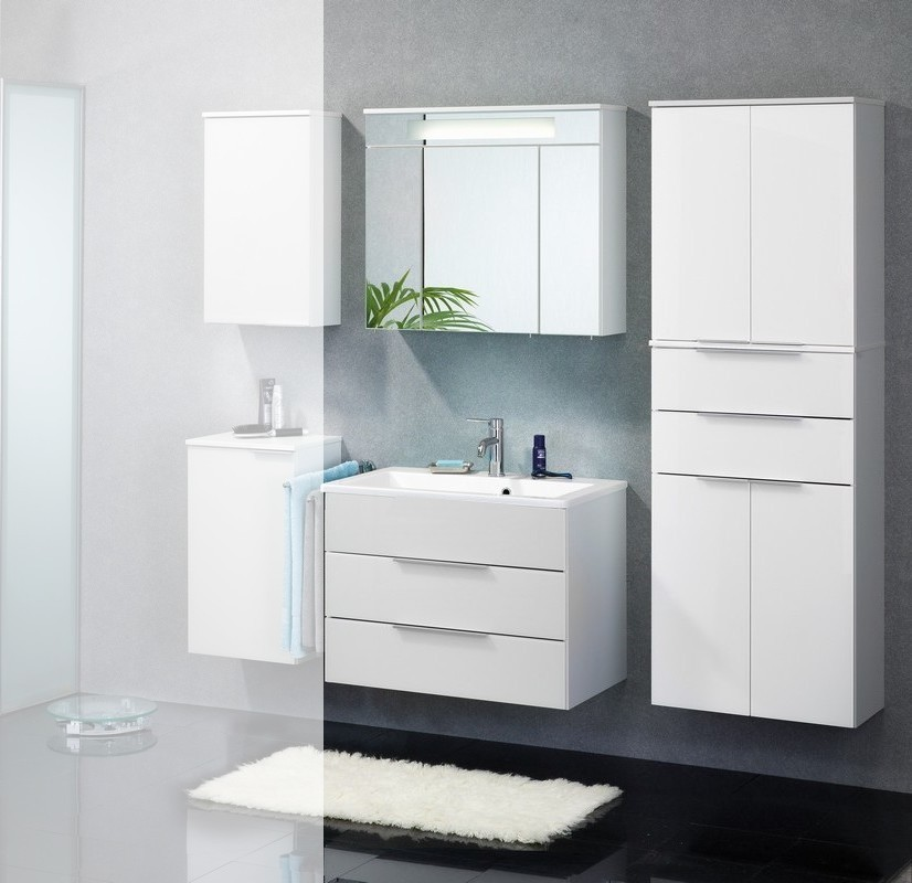 badm bel fackelmann kara white set 4 tlg waschbeckenauswahl. Black Bedroom Furniture Sets. Home Design Ideas