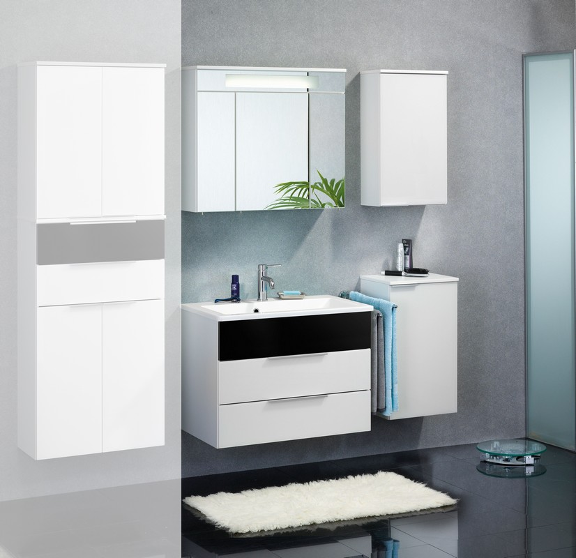 badm bel fackelmann kara bianco set 5 teilig neu badset kara wei ebay. Black Bedroom Furniture Sets. Home Design Ideas