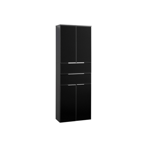 fackelmann badm bel kara anthrazit hochschrank 500 65. Black Bedroom Furniture Sets. Home Design Ideas
